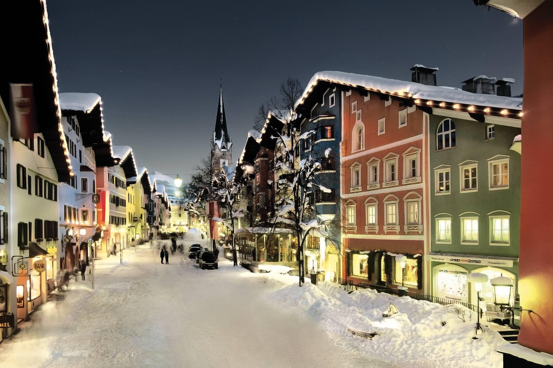 Ski Kitzbuhel Austria Europe