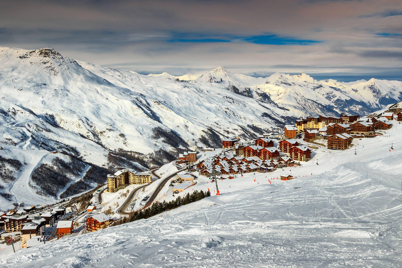 Les Menuires Ski Resort village