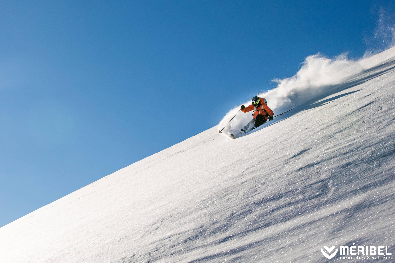 Ski Méribel Ski resort in France