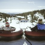 Snow tubing at Heavenly