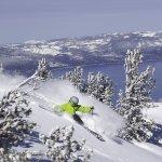 Skiing at Heavenly California