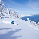 Skier at Heavenly California