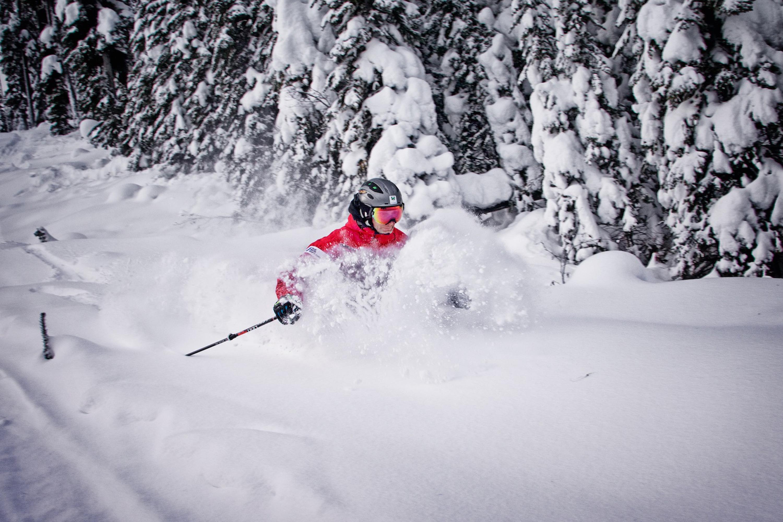 Powder skiing Kimberley